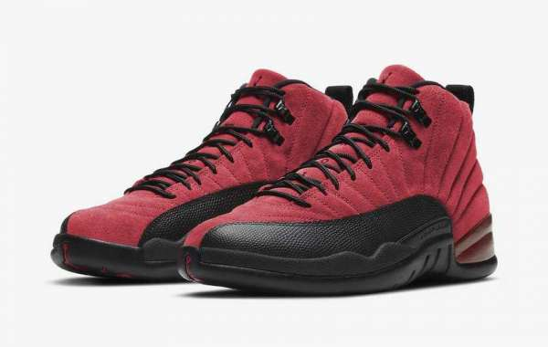 """CT8013-602 Air Jordan 12 """"Reverse Flu Game"""" Will Be Released On The 26th Of This Month"""