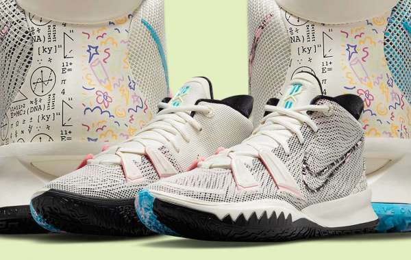 """CZ0141-100 Nike Kyrie 7 """"Pale Ivory"""" will be released on May 1st"""