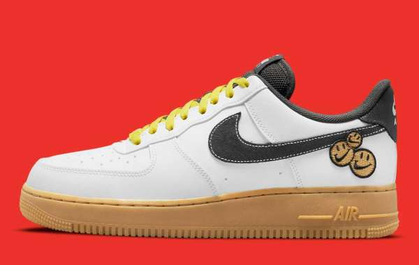 """2021 Latest Nike Air Force 1 """"Go The Extra The Smile"""" DO5853-100"""