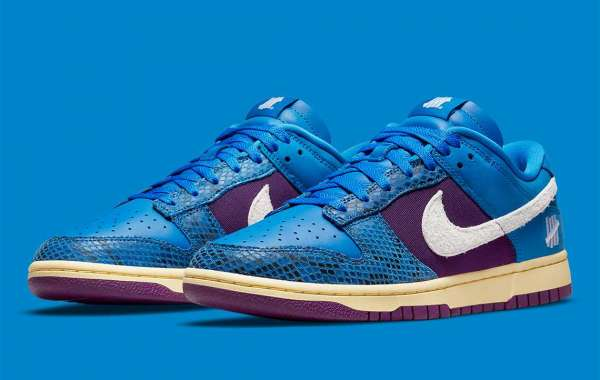 DH6508-400 Undefeated x Nike Dunk Low Dunk vs. AF1